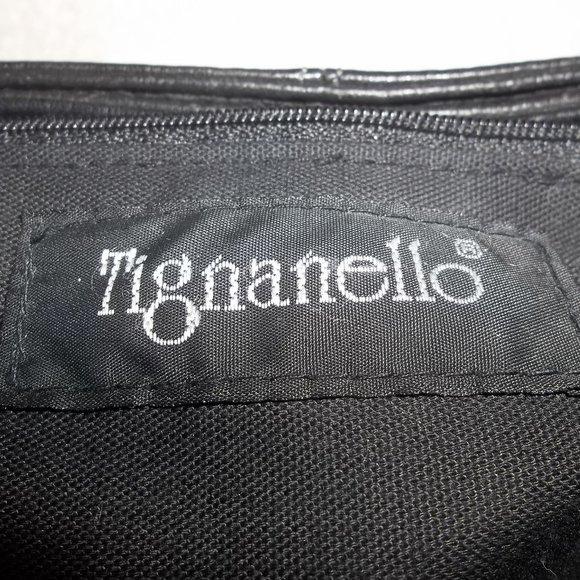 Tignanello Bags Black Leather Satchel Poshmark